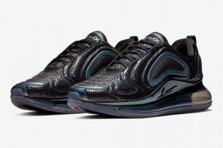 抢先预览 Nike Air Max 720「Iridescent Mesh」配色