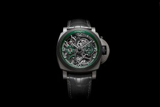Panerai 全新陀飞轮 Lo Scienziato Luminor Tourbillon GMT 手表登场
